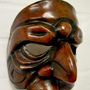 Prepostero leather character mask