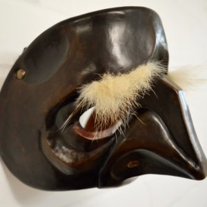 Leather Pantalone commedia dell'arte mask