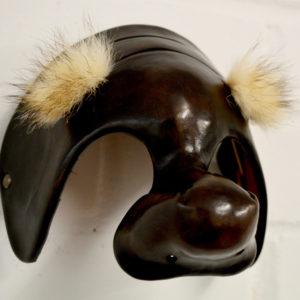 Dottore leather commedia dell'arte mask