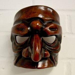 Prepostero leather characterhalf mask